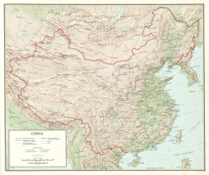 Communist China Map Folio (1967)