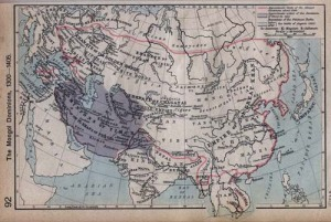 Mongol Dominions, 1300-1405